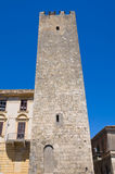 Barucci tower. Tarquinia. Lazio. Italy. Royalty Free Stock Photography