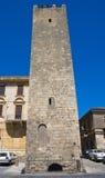 Baruccitoren. Tarquinia. Lazio. Italië. Royalty-vrije Stock Afbeeldingen