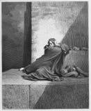 Baruch ben Neriah stock de ilustración