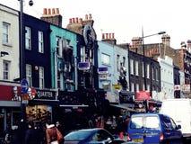 Barullo Engelse las calles Royalty-vrije Stock Afbeeldingen