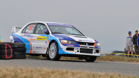 Barum Czech Rally 2009 IRC Royalty Free Stock Photos
