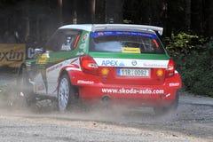 Barum Czech Rally 2009 IRC Royalty Free Stock Photo
