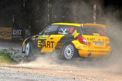 Barum Czech Rally 2009 IRC Royalty Free Stock Image