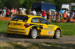 Barum Rally 2011 Royalty Free Stock Image