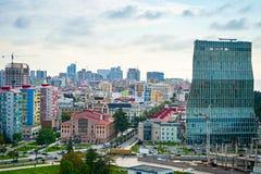 Barumi skyline. Republic of Georgia Royalty Free Stock Images