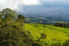 Barva火山国家公园-哥斯达黎加 库存图片
