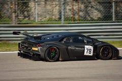 Barwell Motorsport Lamborghini Huracà ¡ n GT3 Zdjęcie Royalty Free