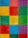 Barwiąca plastikowa masaż podłoga matuje mozaikę zdjęcie royalty free