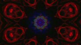 Barwiący neonowy magiczny modny usterki tło ilustracji