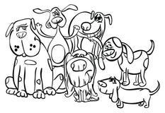 Barwiący strony ` serii Zwierzęcy ` Zdjęcia Stock