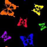 Barwiący tęcza motyle ilustracji