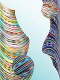 barwiący tło bary Fotografia Stock