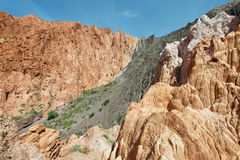 barwić góry blisko Uquia zdjęcie royalty free