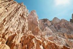 barwić góry blisko Uquia obrazy royalty free