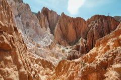 barwić góry blisko Uquia obraz royalty free