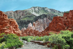 barwić góry blisko Uquia fotografia royalty free