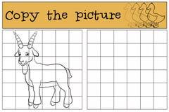 Barwić stronę Barwi ja: kózka Mała śliczna dziecko kózka ilustracji