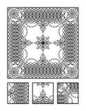 Barwić stronę i wizualną łamigłówkę dla dorosłych ilustracja wektor