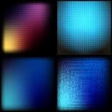 barwi akwarele farby papieru kwadratów tekstury akwarele biały Obraz Stock