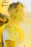 Barwi bieg, Lido Di Camaiore, Włochy Fotografia Royalty Free