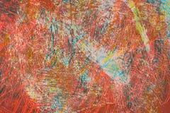 Barwiąca abstrakcjonistyczna tekstura Zdjęcie Royalty Free