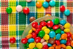barwiąca cukierek czekolada Obraz Royalty Free