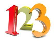 123 barwiącej postaci Fotografia Stock