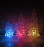 Barwiący akrylowi drzewa zdjęcia royalty free