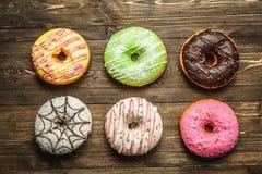 Barwiący asortyment donuts Obraz Royalty Free