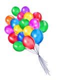 Barwiący balony ilustracja wektor
