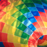 barwiący lotniczy balon Zdjęcie Stock
