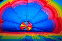 barwiący lotniczy balon Obraz Stock