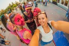 barwi festiwal zdjęcie stock