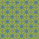 Barwi geometrycznego deseniowego tło Obrazy Stock