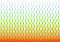 Barwi gradientowego bezszwowego wzór, tło lub tapetę, obraz stock