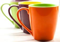 Barwi kawę Zdjęcia Royalty Free