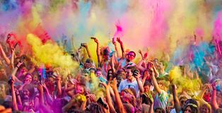 barwi muzykę Fotografia Royalty Free