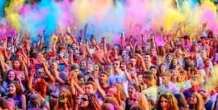 barwi muzykę Obrazy Stock