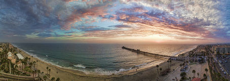 Barwi niebo Fotografia Stock
