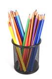 Barwi ołówek zdjęcie royalty free