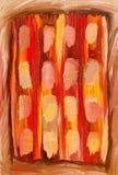 barwi obraz olejny Zdjęcie Stock