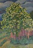 barwi obraz olejny Zdjęcia Stock