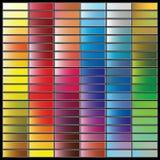 barwi paletę ilustracji