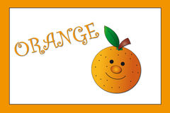 barwi pomarańcze Obrazy Stock