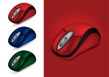 barwi różnej komputer myszy Obrazy Stock