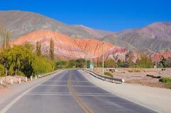 barwi wzgórze siedem Zdjęcia Royalty Free