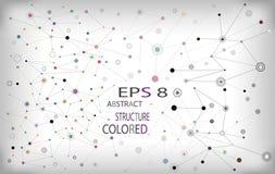 Barwiona abstrakcja Fotografia Stock