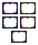 Barwiona abstrakt rama Zdjęcia Royalty Free