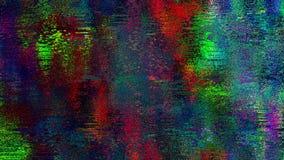 Barwiona adra Zniekształcający hałasu Grunge tekstury Modny tło Obraz Royalty Free