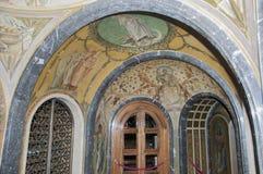 Barwiona architektura Zdjęcie Stock